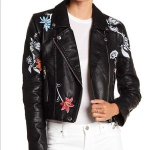 NWT blanknyc faux leather jacket